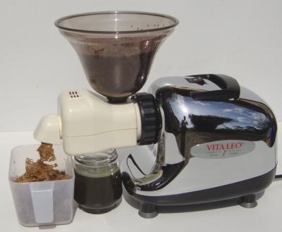 Presse huile de vitaleo - Moulin graines de lin cuisine ...