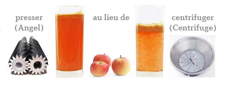 Extracteur de jus test - Jus de pomme extracteur vapeur ...