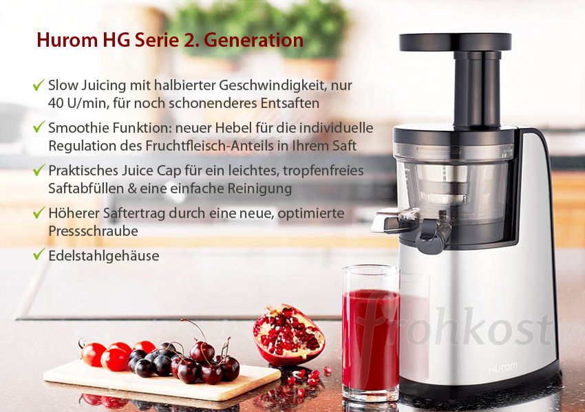 Hurom HG Elite 2. Generation